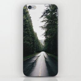 Middle of the road Canada iPhone Skin
