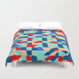 Miscellaneous shapes Duvet Cover