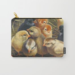 baby chicks - by phil art guy Carry-All Pouch