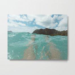 Hawaii Water III Metal Print