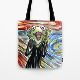 The Frog Shout Tote Bag