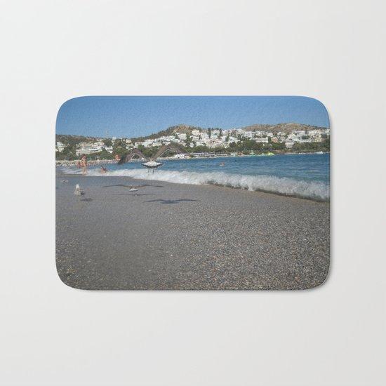 Seagull Beach Greece Bath Mat