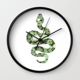 Slytherin House Wall Clock