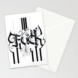 Fuck Stationery Cards