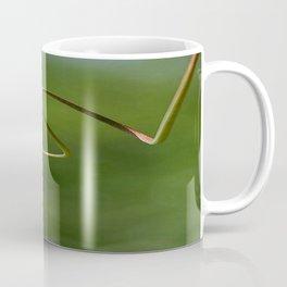 Spring Shaped Passion Flower Tendril  Coffee Mug