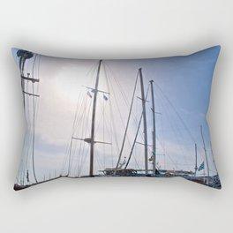 Sailboats Rectangular Pillow