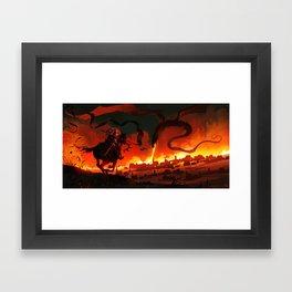 Unsung Hero - Courage Framed Art Print