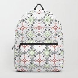 Ethnic ornament Backpack