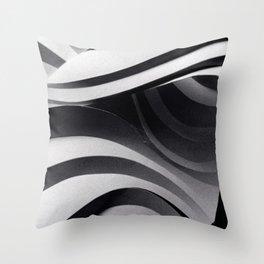 Paper Sculpture #5 Throw Pillow