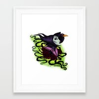 maleficent Framed Art Prints featuring Maleficent by Katie Simpson a.k.a. Redhead-K