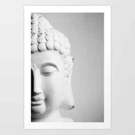 practice patience, compassion and lovingkindness Art Print