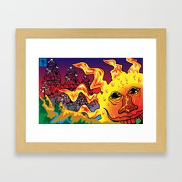 Receive a Smile from the Sun Framed Art Print