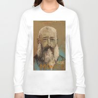 monet Long Sleeve T-shirts featuring 50 Artists: Claude Monet by Chad Beroth