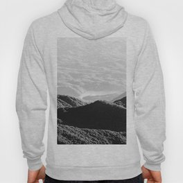 Smoky Mountain Black and White Forest Sunset - 125/365 Hoody