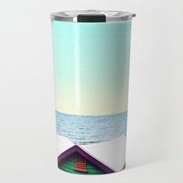 Beach Boxes Travel Mug