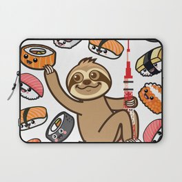 Sloth Sushi Tokyo Laptop Sleeve