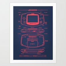 GB Advance Art Print