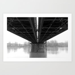 Rail / Ways Art Print