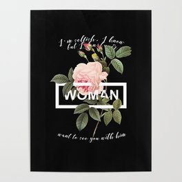 Harry Styles Woman graphic artwork Poster