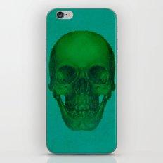 Green Skull iPhone & iPod Skin