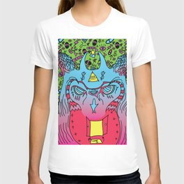 Trippy Wise Owl T-shirt