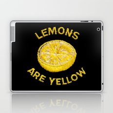 Lemons Are Yellow Laptop & iPad Skin