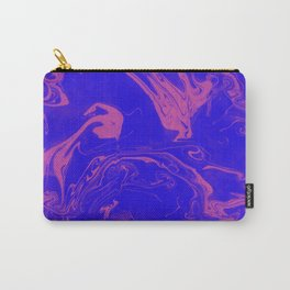 Adrift - Abstract Suminagashi Marble Series - 02 Carry-All Pouch