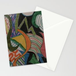 Abstract Dream Stationery Cards