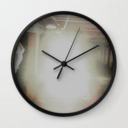 Dirt and Glitter Wall Clock