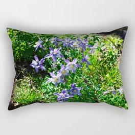 Columbines and Sunshine Rectangular Pillow