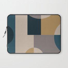Geometeric Neutral Minimal Laptop Sleeve