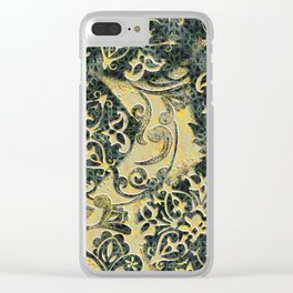 The Queen's Blanket Clear iPhone Case