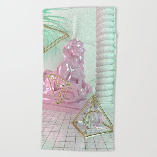 Soothing 3D Feeling Beach Towel