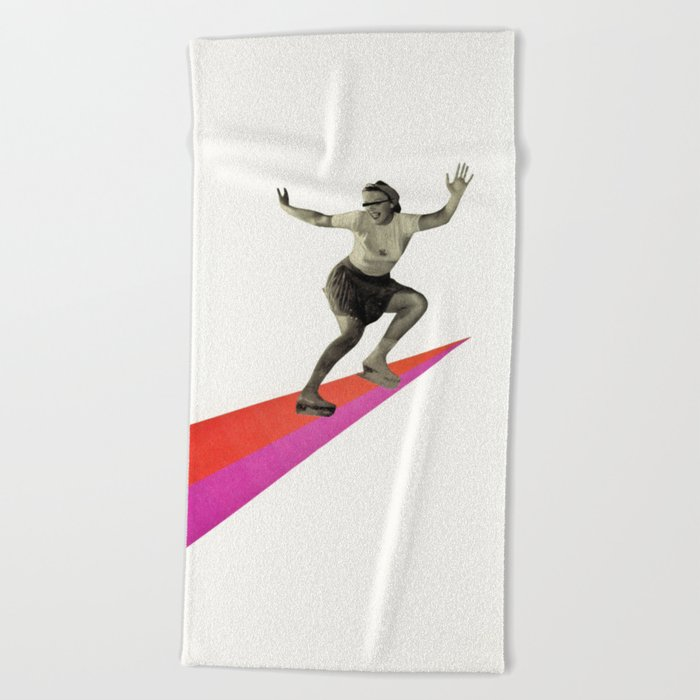 Skate the Day Away Beach Towel