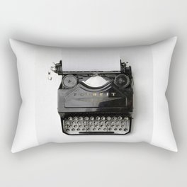 Typewriter Rectangular Pillow