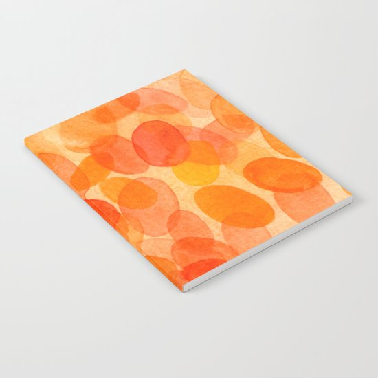 Orange dots  Notebook
