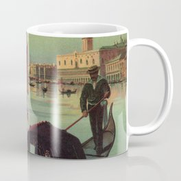 Paris Venice Victorian romantic travel Coffee Mug