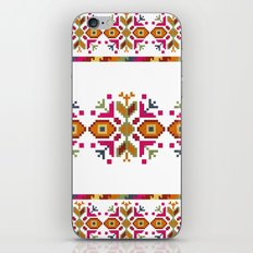 Bulgarian embroidery pattern iPhone Skin