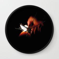 Spark Fire Wall Clock