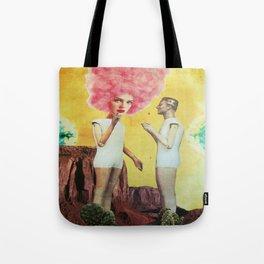 The Spaces Between Us Tote Bag