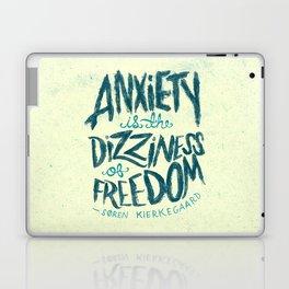 Kierkegaard on Anxiety Laptop & iPad Skin