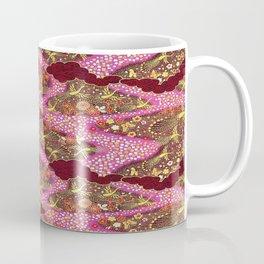 Intricate Yuzen Pattern Coffee Mug