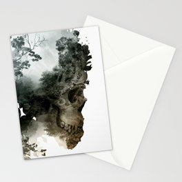 Skull - Metamorphosis Stationery Cards