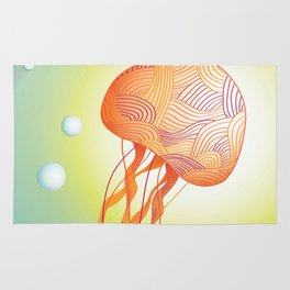 Tertiary Jellyfish Rug