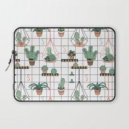 Modern Succulents Laptop Sleeve