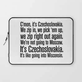 quoting Hollywood 7 Laptop Sleeve
