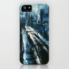 """""""Manhattan"""" Painting iPhone Case"""