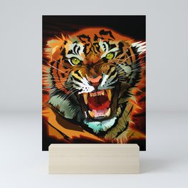 Tiger Roar Mini Art Print