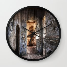 The Fire is gone Wall Clock