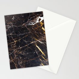 Golden Brown Granite Stationery Cards